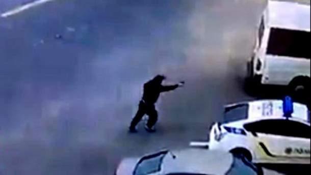 убийство полицейского в днепре фото