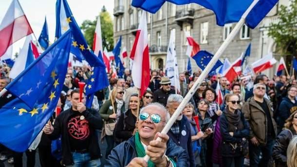 Польша протестует!