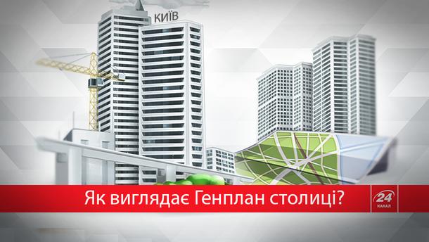 Що записано у Генплані Києва?