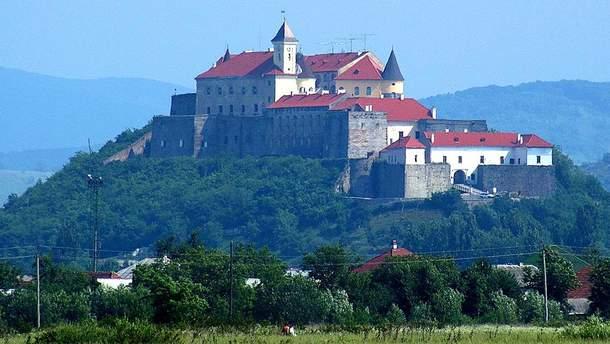 Замок Паланок в Мукачево