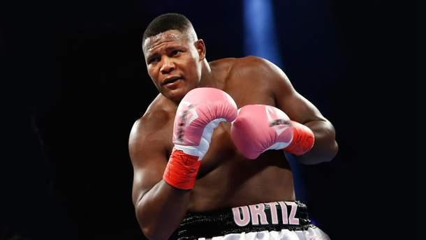 Временный чемпион мира по версии WBA Луис Ортис