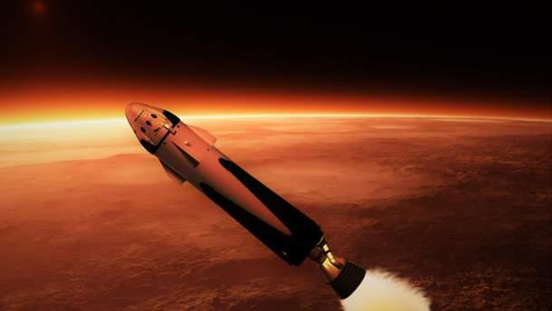 Ракета на Марс