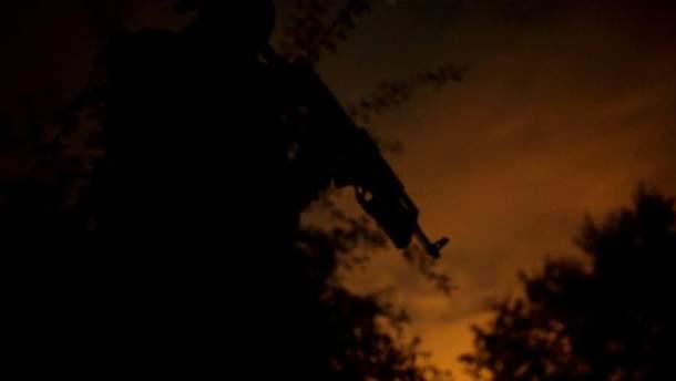 Ночь в зоне АТО