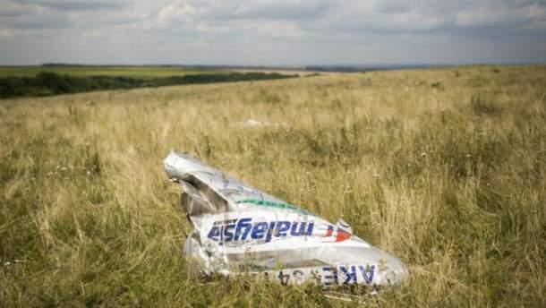 Boeing-777 збили з території, підконтрольної бойовикам
