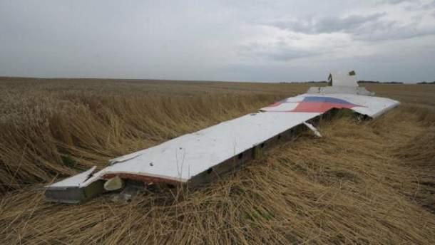 Уламки збитого Boeing-777