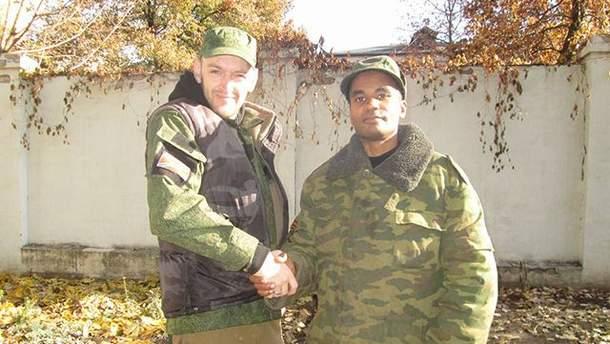 Бенджамін Стімсон (зліва)