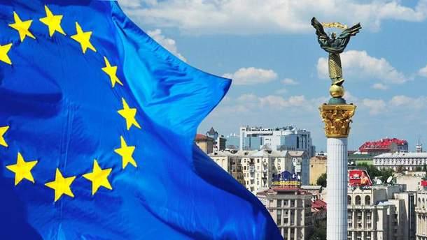 Только половина украинцев хочет в Европу