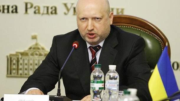 Секретарь СНБО Александр Турчинов