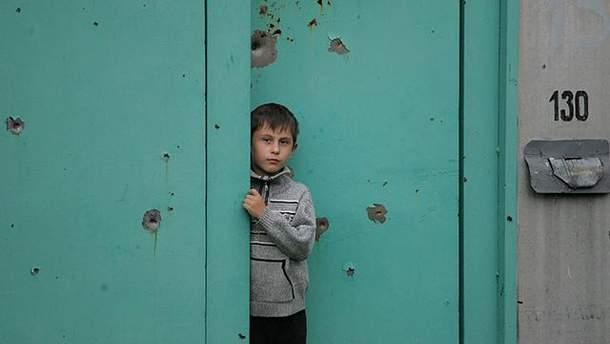 Житель оккупированного Донбасса