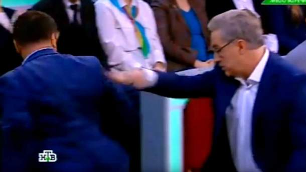 """Ведущий обозвал украинца """"бараном"""""""
