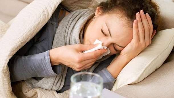 Парагрип нагадує звичайну застуду