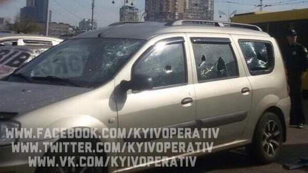 Обстреляли авто