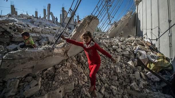 Руины Алеппо
