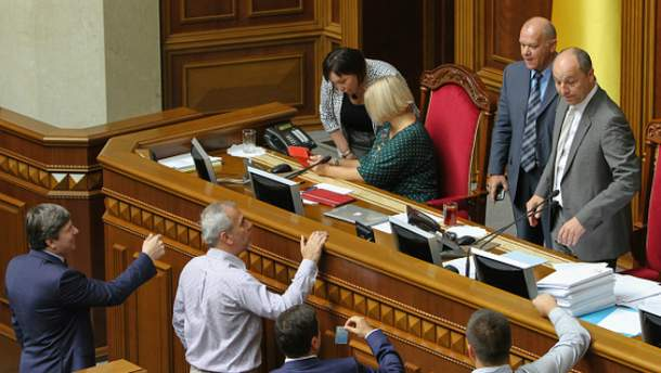 Рада уволила судей, которые выносили решения против евромайдан