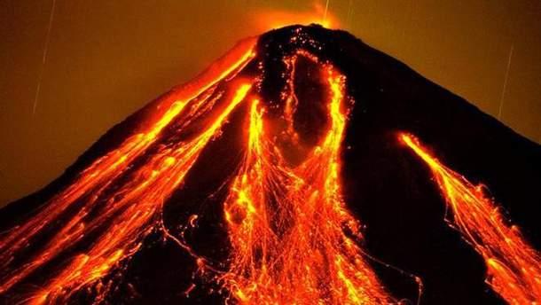 Вулкан Коліма у Мексиці