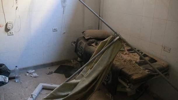 Знищена лікарня у Сирії