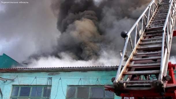 Пожар в депо
