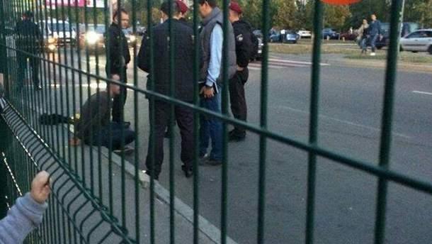 Задержание стрелка в Киеве