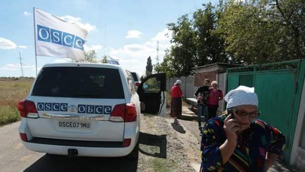 Спостерігачі ОБСЄ на Донбасі