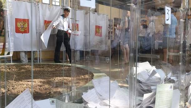 Псевдовыборы в Крыму