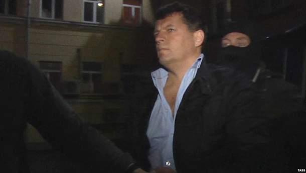 Задержание Романа Сущенко