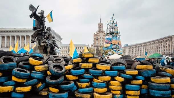 Баррикады на Майдане