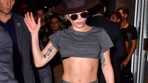 Гага снова шокировала