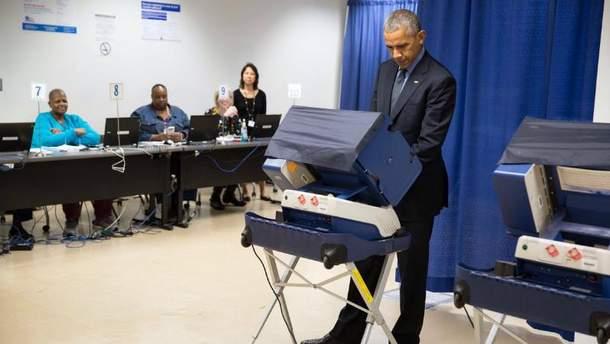 Обама вже проголосував за свого наступника