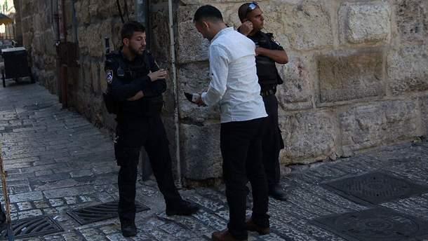 Полиция в Иерусалиме