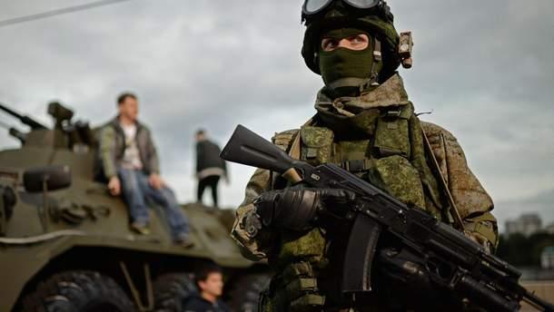 Представитель Нацгвардии РФ