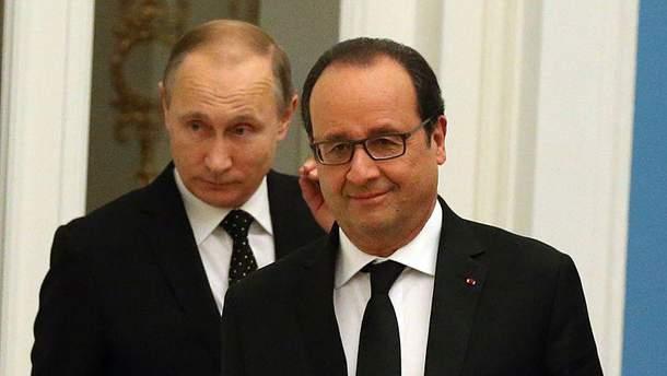 Олланду набридла поведінка Путіна