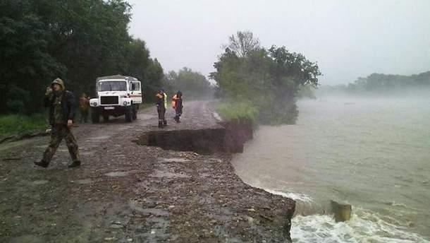 Поисковые работы на месте трагедии близ Ялты