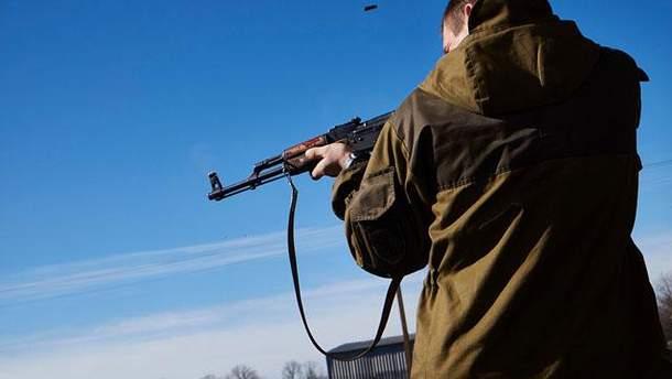 Боевик на Донбассе