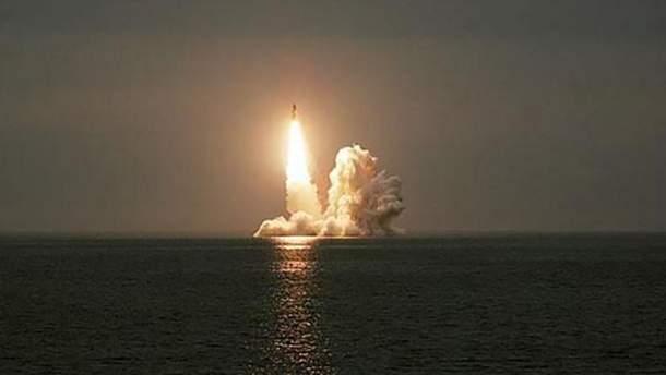Россия за один день запустила три баллистические ракеты