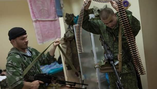 Російські військові на Донбасі