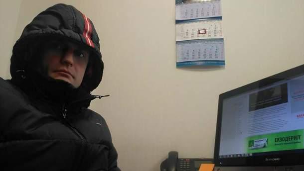 Игорь Луценко показал, в каких условиях работает