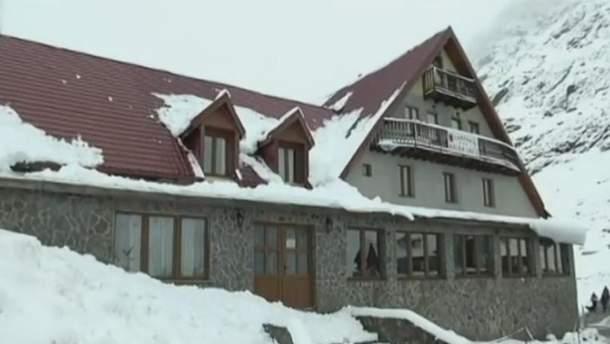 Сніг в Ромунії