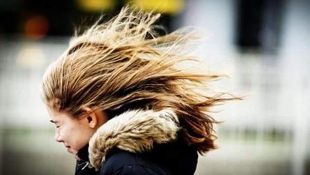 В некоторых областях следует ожидать порывов ветра