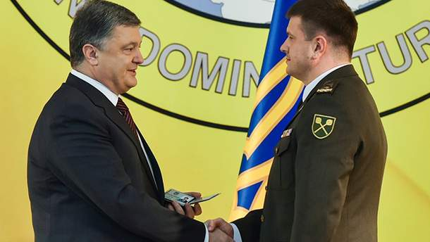 Петр Порошенко и Василий Бурба