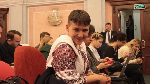 Савченко таки вдалось побачитись з Карпюком і Клихом