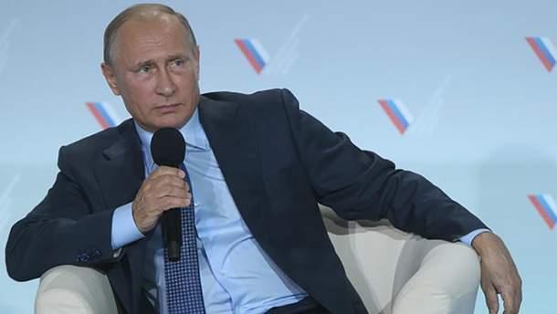 Путина расстроила Украина
