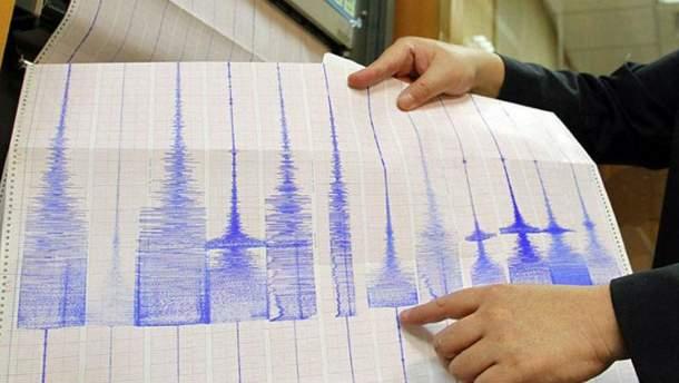 Землетрясение было магнитудой 5,4 балла