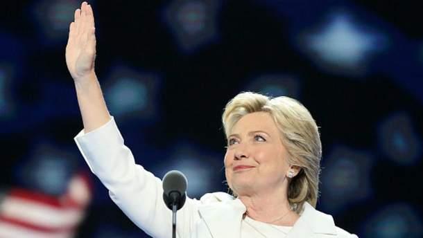 Гілларі Клінтон може стати першою жінкою-президентом в історії США