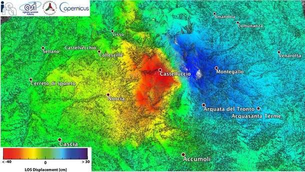 Зони ураження від землетрусу