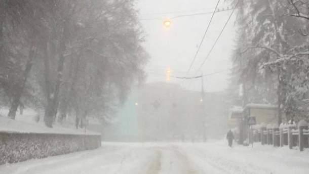 Непогода на Тернопольщине