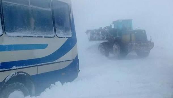Непогода бушует в Украине