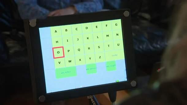 Силой мысли можно набирать буквы на мониторе
