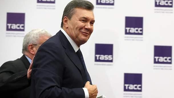 Віктор Янукович дав прес-конференцію в Ростові