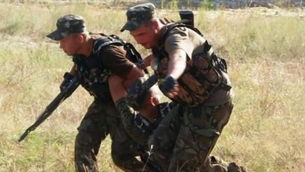 Опять пострадали украинские воины на Донбассе