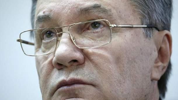 Янукович говорит, что многого не помнит